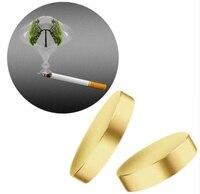 100 комплекты бросить курить магнитный пластырь Акупрессура анти-дым патч бросить курить без бездымные сигареты курильщика оздоровительный...