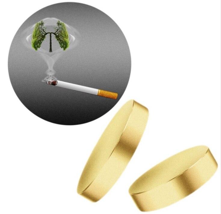 100 ensembles arrêter de fumer plâtre aimant acupression Anti-fumée Patch arrêter de fumer pas de Cigarette sans fumée fumeur santé Massage soins