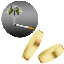 100 sets Quit Smoking Plaster Magnet Acupressure Anti Smoke