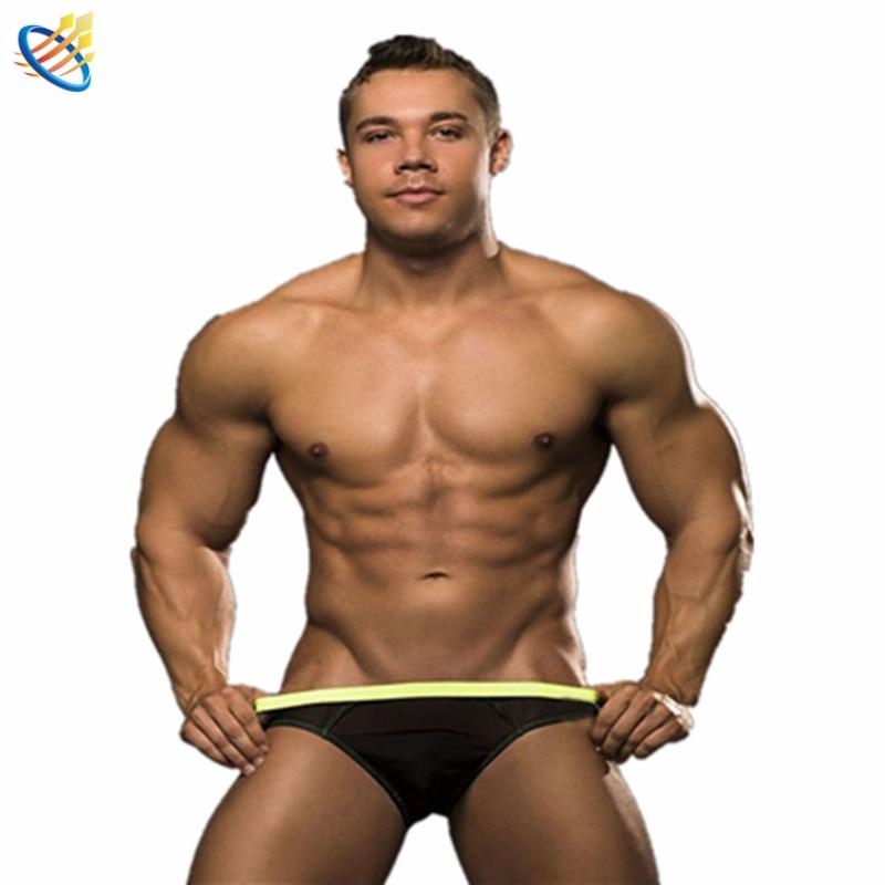 2016 New Sexy Mens Briefs Transparent Mesh See Through Bulge Pouch Underwear Man Gay Erotic Sheer Jockstraps Cuecas Panties