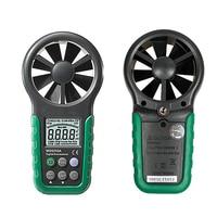 Digital Anemometer T&RH Sensor Air Wind Speed Velocity Meter USB Interface MS6252B
