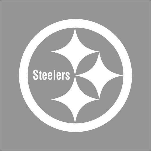 Car styling for pittsburgh steelers nfl team color vinyl decal sticker car window wall