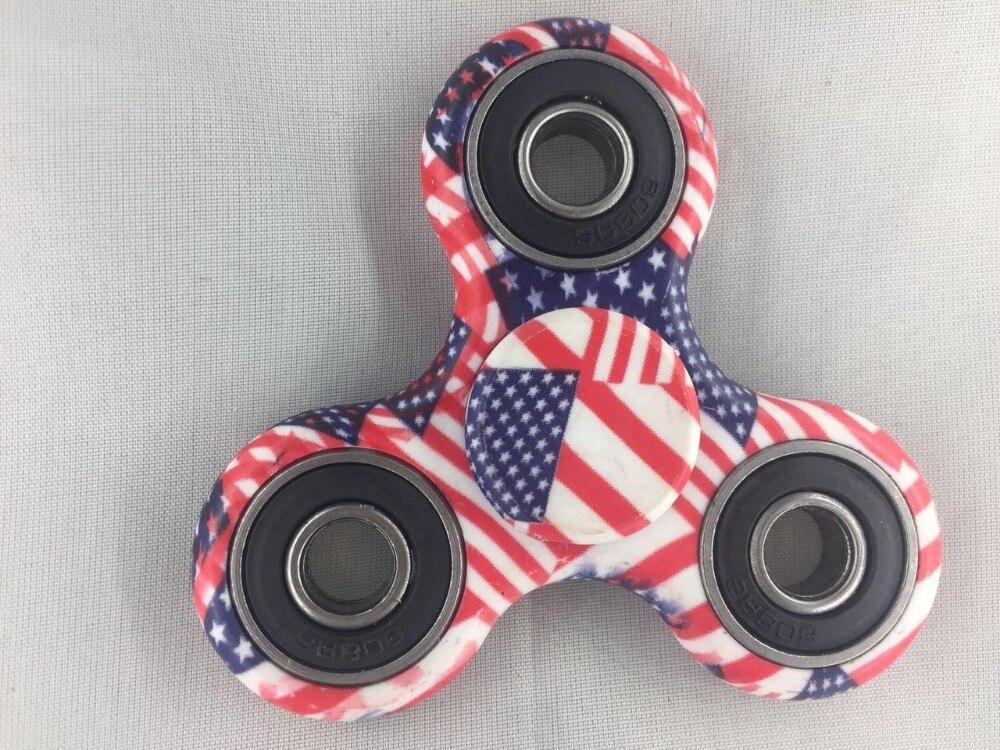 Hand spinner Fidget spinner Figet Finger spiner Stres Figit EDC Tri-spinner Toy...