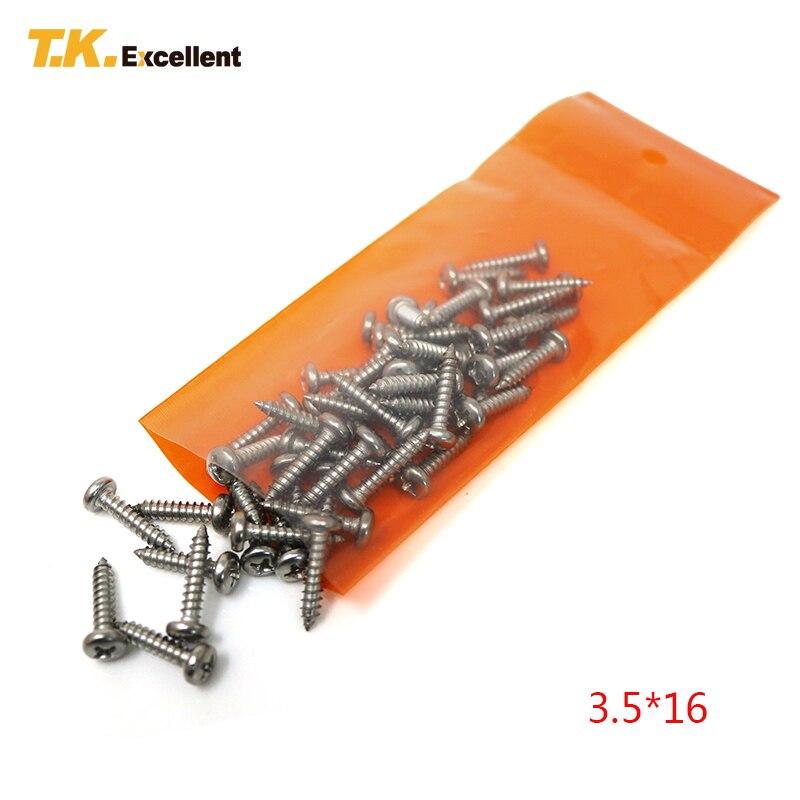 T.K.Excellent 170 piezas Tornillo cabeza plana Acero inoxidable 304 Juegos de pernos con tuerca y arandela