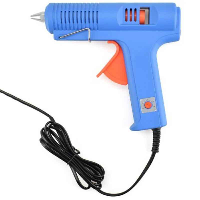 150W Hot Melt Glue Tool With Free 1Pc 11Mm Stick Heat Temperature Tool Industrial Tools Thermo Glue Repair Heat Tools Eu Plug