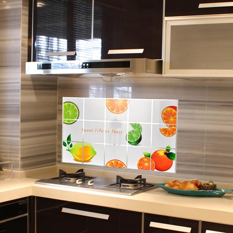 Home Kitchen Decor Picture Fresh Fruit Salad Wall: Kitchen Decor Fruits Kitchen Wall Stickers Accessories