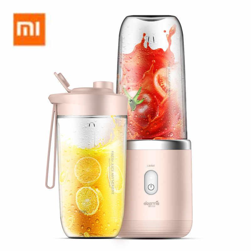 Smoothie and Milkshake MorNon Rechargeable USB Mini Electric Fruit Juicer Smoothie Maker Blender Machine for Juice