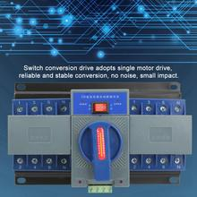 Automatic Transfer Switch Mini 63A 4P Dual Power Automatic Transfer Switch Dual Power 4P Transfer Switch 4p 63a 220v 380v mcb type white color dual power automatic transfer switch ats