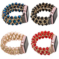 4 Colors Fashion Chain Replacement Bracelet For Apple Watch Band Jewelry Strap For IWatch 42mm 38mm