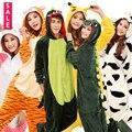 Flanela Panda Totoro Ponto Pikachu Dos Desenhos Animados Cosplay Pijama Unicornio Casa Roupas Adulto Onesie Animais Pijama Uma Peça