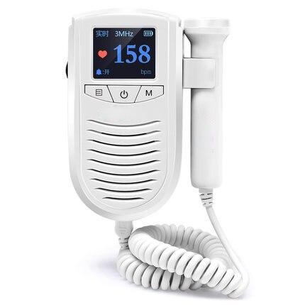 Moniteur cardiaque fœtal maison femmes enceintes ménage médical Doppler surveillance du mouvement stéthoscope bébé détecteur de fréquence cardiaque