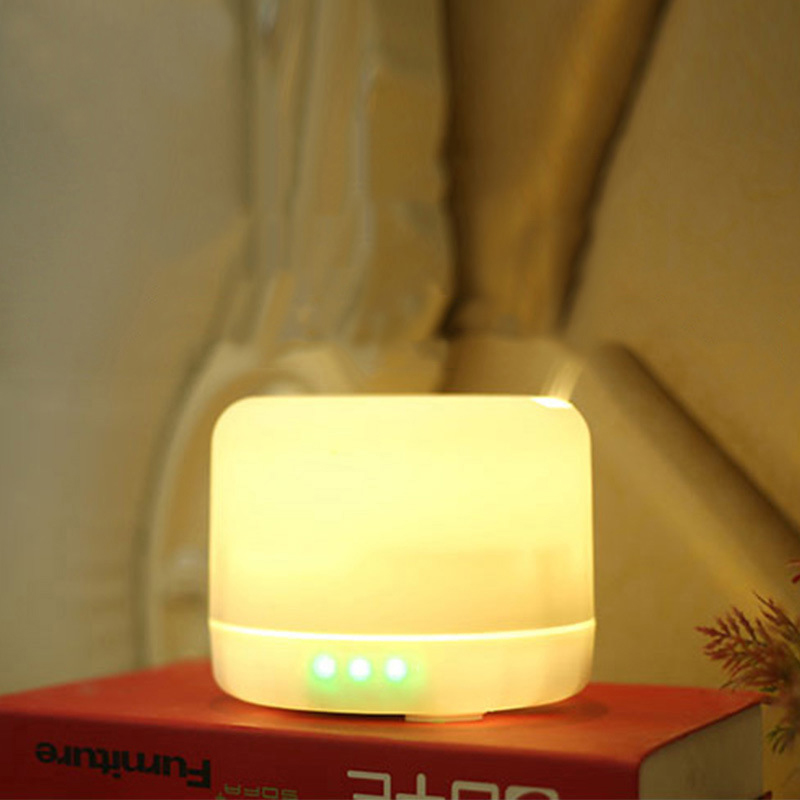 GZMJ Nachtverlichting Lamp Bluetooth Speaker Kleurrijke Essentiële Olie Geur Lamp Dimbare LED Licht Slaapkamer Nachtlampje Home Decor