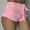 8 colors S-XL women velvet drawstring shorts casual high waist 2017 spring summer sexy elegant skinny fold shorts femme MZ1471