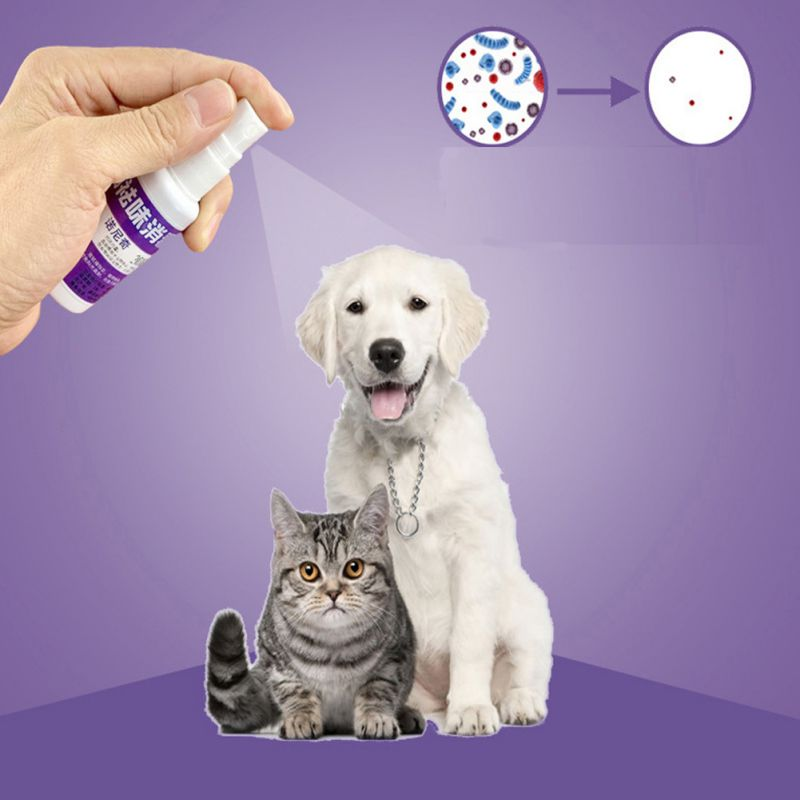 30ml Pet Deodorant Spray Safety Scented Perfume Body Spray For  Dogs And Cats Natural Fresh Scent Deodorant Perfume Remove Odor