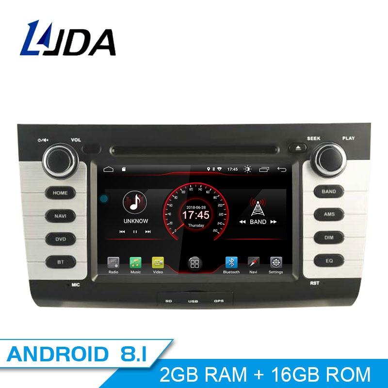 LJDA Android 8.1 Car DVD Player For Suzuki swift 2004 2010 Car Multimedia Player Stereo GPS Navigation IPS Audio 2 Din Car Radio