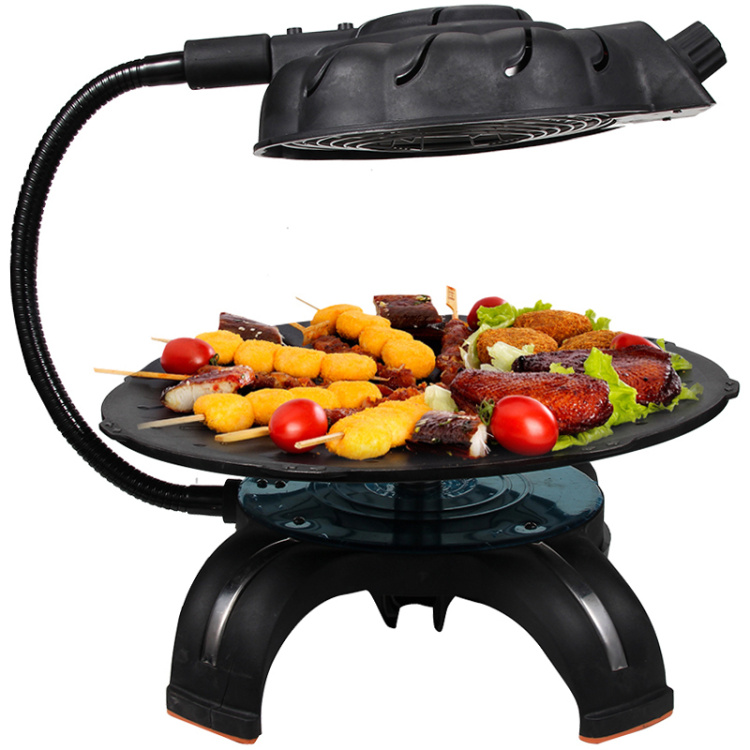 2016 Promotion Sale Infrared Gas Burner Korean 3d Grill Electric Hotplate Outdoor Household Portable Smokeless Nonstick Bbq Pot image