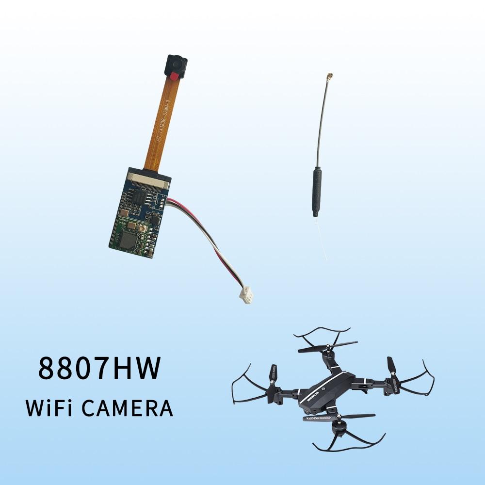 8807 8807 w RC Drone 2.0MP HD WIFI Caméra Partie Pour Visuo XS809W XS809HW Quadcopter pièce de rechange