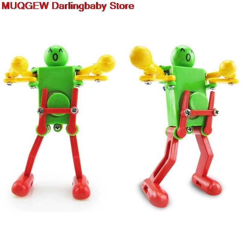 Horloge liquidation danse Robot jouet pour enfants enfant éducation apprentissage développement cadeau Puzzle loisirs amusant drôle classique jouets