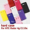 Helada mate de la piel Dura Cubierta protectora Del Caso Para HTC Radar 4G C110e,, envío libre,