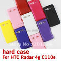 matte Frosted Hard skin protective Case Cover For HTC Radar 4G C110e,,free shipping,