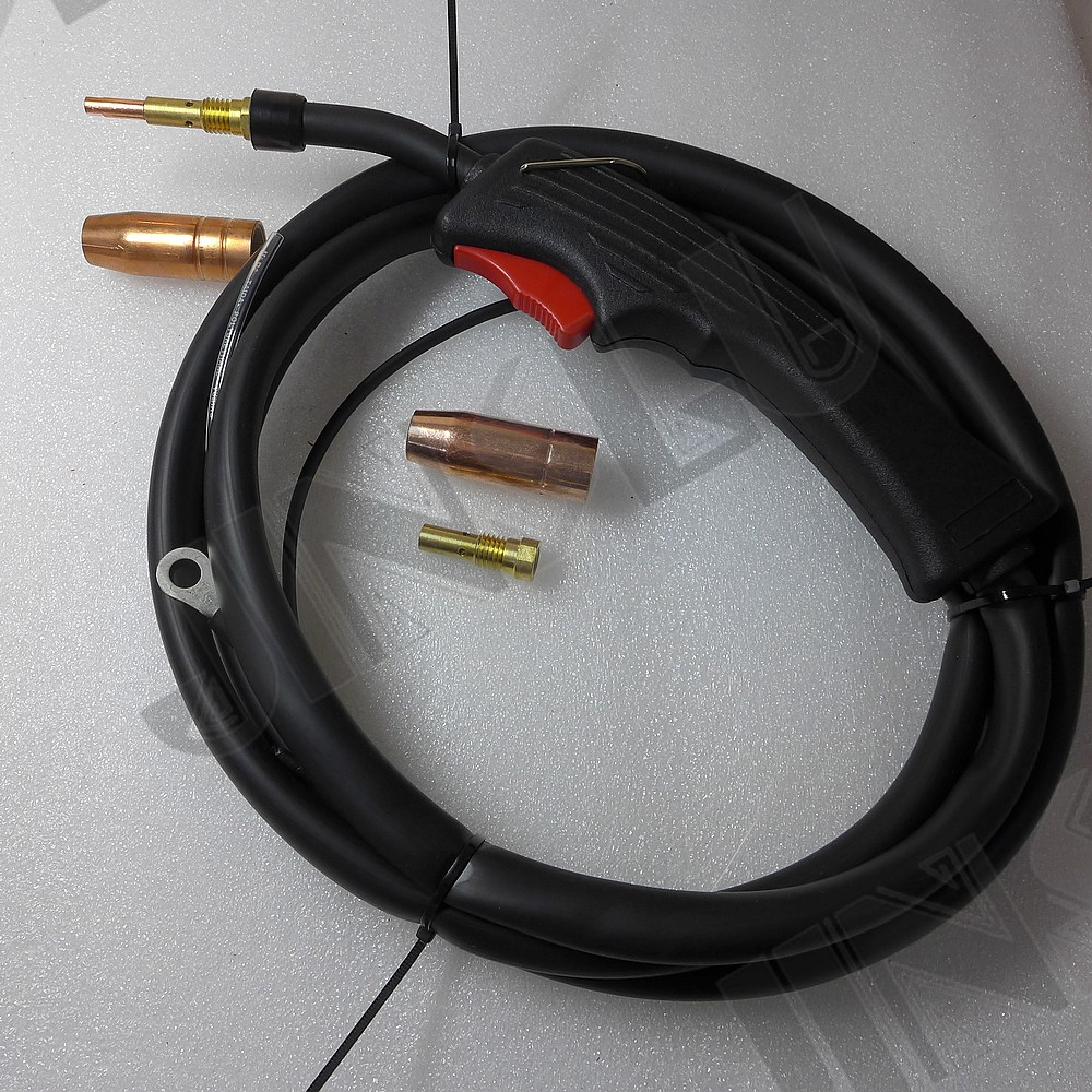 2.5 meters OEM Tweco Style Mig Torch with Gas Value for MIG-130 Mig Welder 100AF Mig Gun mig mag burner gas burner gas linternas wp 17 sr 17 tig welding torch complete 17feet 5meter soldering iron air cooled 150amp