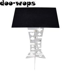 Алюминиевый складной столик (сплав)-серебристые Волшебные трюки, лучший сценический стол для мага, аксессуары для магов