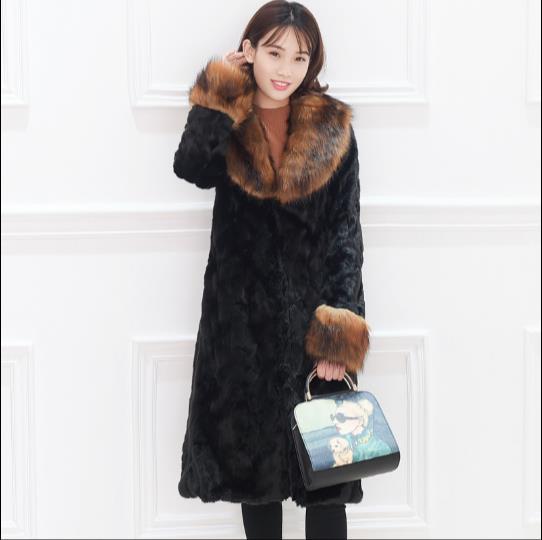 58c054d5b0cb3d Femmes Plus Moelleux Femme Fausse Q921 Veste Artificielle Faux Fourrure  Outwear Furry Manteau De Taille Fluffy ...