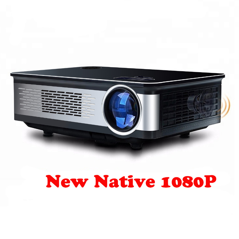 Unlimitv 1920*1080 p projecteur Full HD 150 grand écran 3500 haute luminosité vidéo home cinéma projecteur Compatible TV BOX, PC, ps4