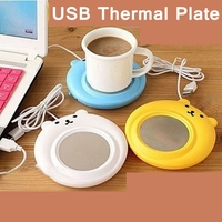 [Readstar] usb thermische platte 3 watt usb warmen gericht thermische coffer tee milch usb gadgets wärmer platte einzelhandel verpackung 3 farben