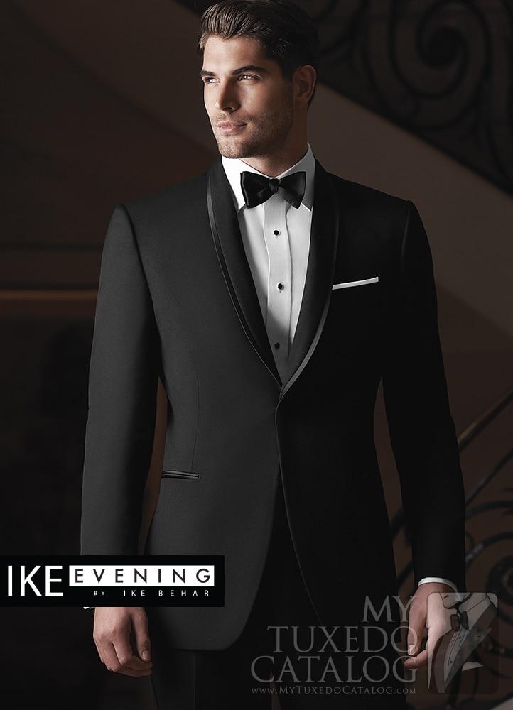 Bruidegom Tuxedos zwart Best Man Formele bruid past fraque do noivo - Herenkleding