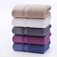 New Arrival 70 140cm 450g Thick Luxury Egyptian Cotton Bath Towels Solid SPA Bathroom Beach Terry