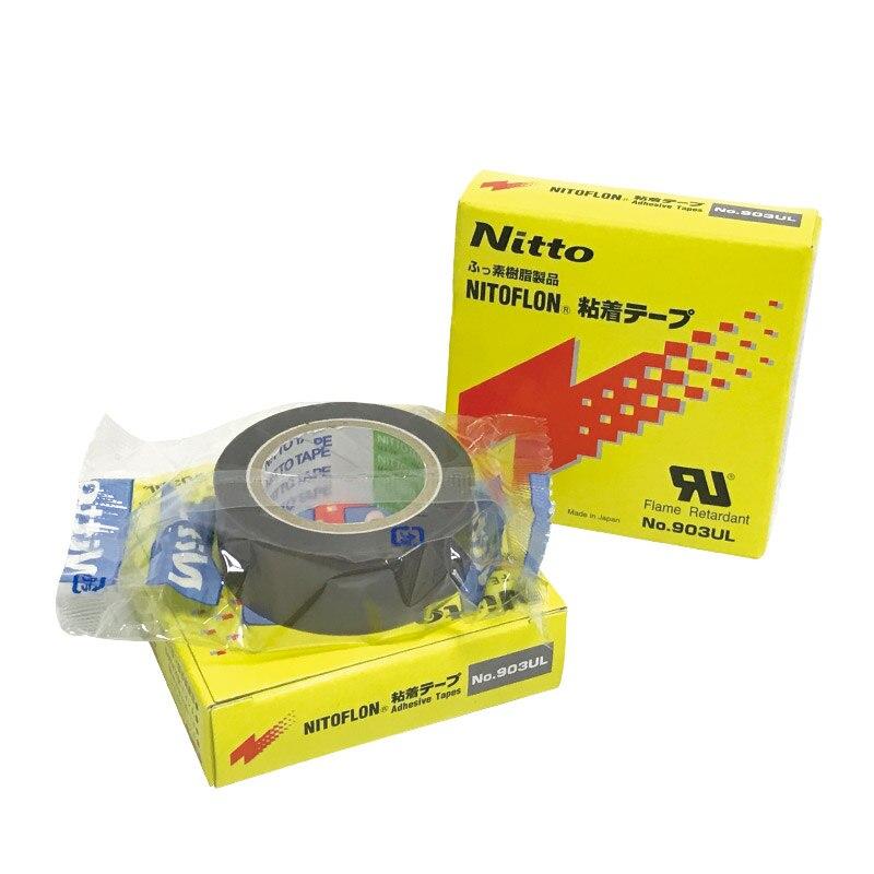 T0.08mm*W19mm*L10m Japan NITTO DENKO Adhesive Strips 903UL NITOFLON PTFE Seal Tape