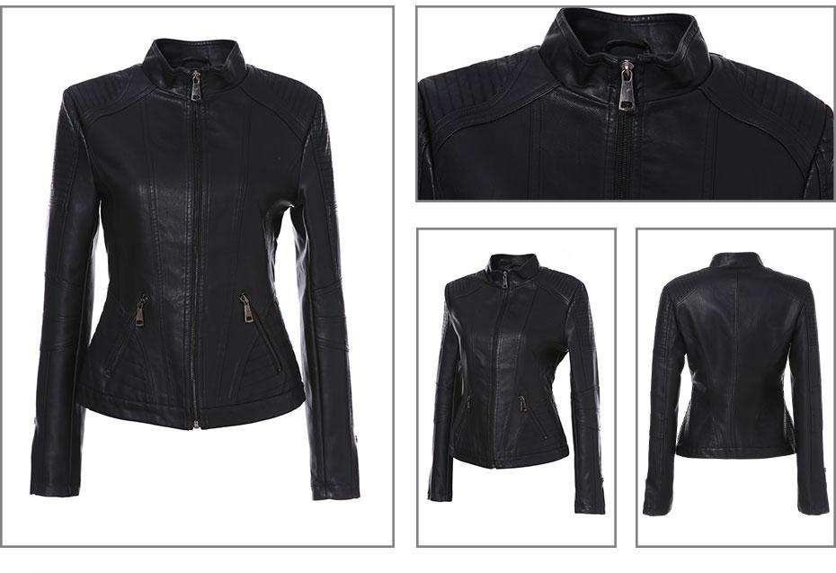 Brand Leather Jacket (3)