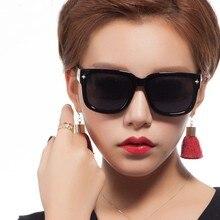 New Summer Unisex Oversized Sunglasses Women Men Metal Frame Polarized Sun Glasses UV400