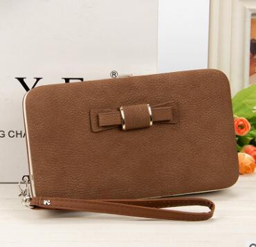 2018 Franbrani tui Commercio All'ingrosso di new Coreano versione delle signore della borsa lunga sacchetto del telefono, del legame di arco di scatola di pranzo, raccoglitore delle donne K