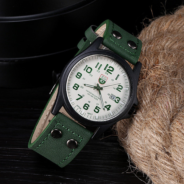 Luxury Vintage Classic Leather Watch
