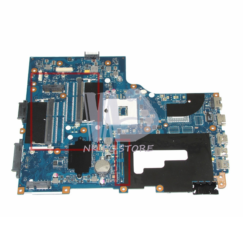 VA70 VG70 Mainboard rev 2.0 For Acer aspire V3-771 V3-771G Laptop Motherboard DDR3 Two Ram slot 100%test p5we6 la 7092p rev 1 0 mainboard for acer aspire 5253 5250 laptop motherboard ddr3 mbrjy02001 mb rjy02 001