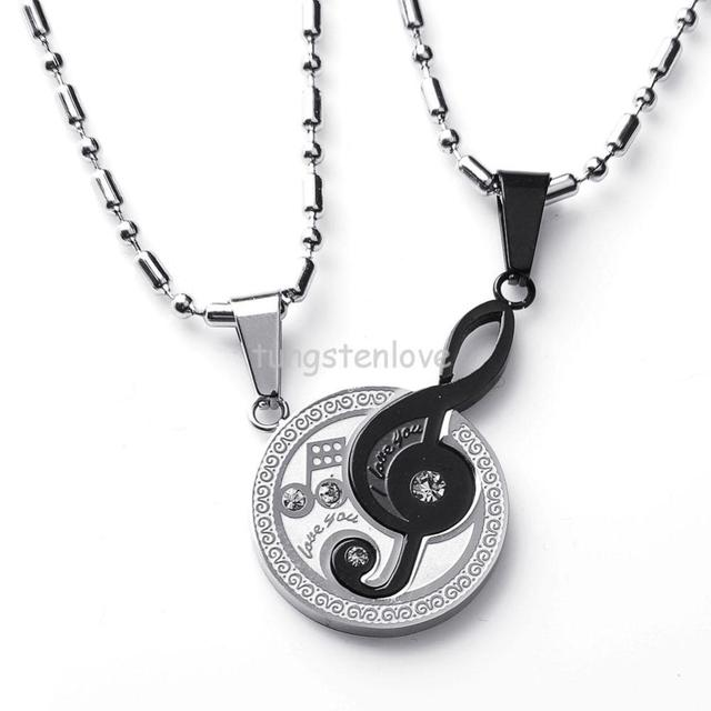 7b99f4c26d New necklaces & pendants Musical Matching Music Note