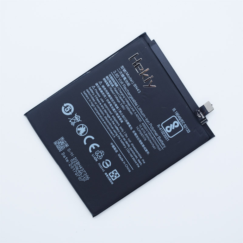 Hekiy 100% Original Backup new BN43 Battery 4000 mAh for Xiaomi Redmi Note 4X Battery In stock With Tracking number