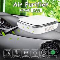 Car Air Purifier Freshener Portable Negative Ions Air Cleaner USB Fog Cleaner Auto Fresh Air Purifier Oxygen Bar Ozone Ionizer