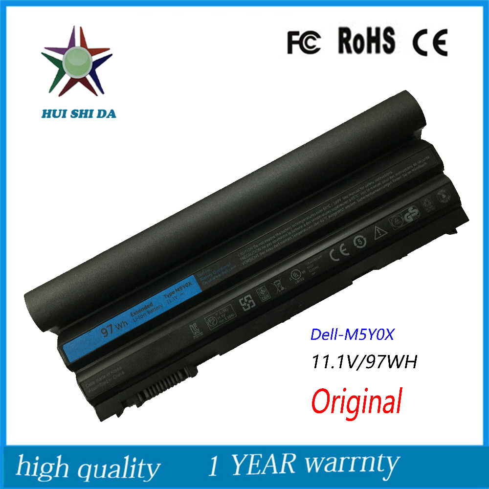 9cells 97WH Original New   Laptop Battery for Dell Latitude E6420 E5420 E5520 E6530 8P3YX T54F3 M5Y0X new 12 cells laptop battery for dell latitude e6400 e6410 e6500 e6510 pt434 pt435 pt436 pt437 free shipping