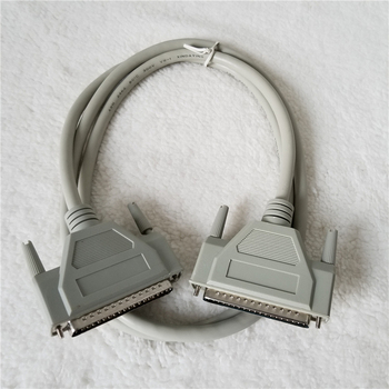 DB37 37Pin Male to Male Adapter Data Extension Cable for Video Monitor PC TV Projector 1.5M White
