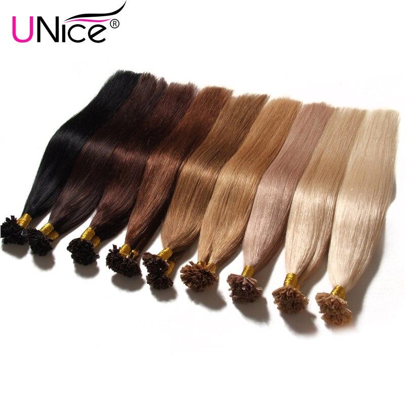 7a Keratin U Tip Human Hair Extensions 1gs 18 24 U Tip Fusion