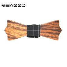 Rewood 2016 Formal Commercial Bow Tie Fashion Men Bowties For Boys Wedding Accessories Cravat Bowtie