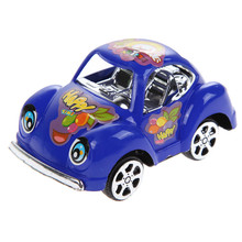 6pcsset lovely pull back cars baby toy funny child toy cars mini small pull back car model vehicle kids toys gift random color