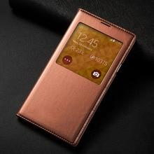 S5 мини без оригинальной чип чехол для телефона кожа флип задняя крышка для Samsung Galaxy S5 Mini G800 G800F G800H