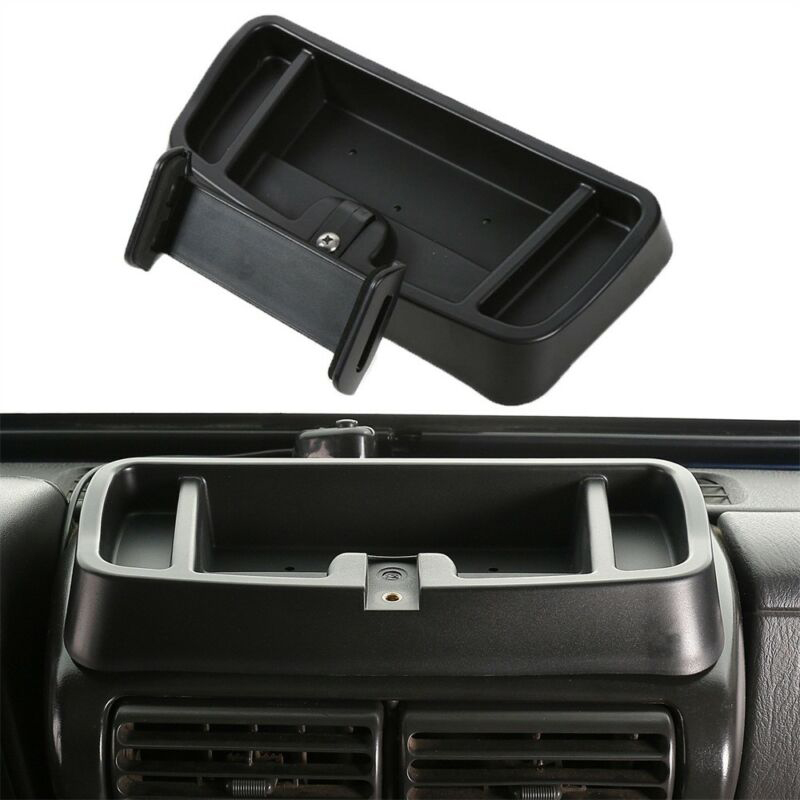 Plastic Storage Box For Jeep Wranglers TJ 1997-2006 Interior Adjustable Multi-mount Replacement
