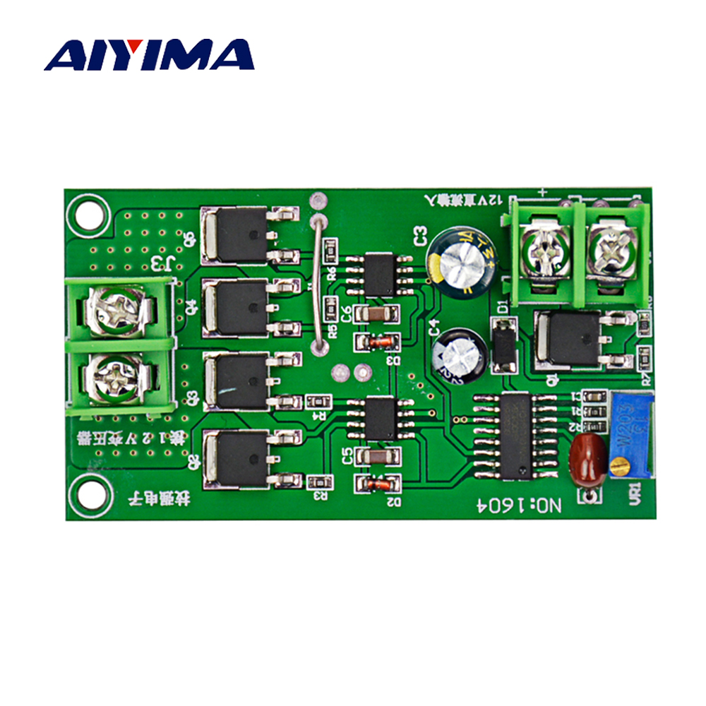 Aiyima 12 24v Sg3524 High Power Inverter Driver Board Square Wave On Images For Using Circuit Diagram Image 50 Dc