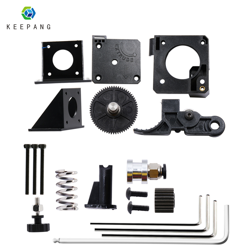 Kee Pang Titan remote extruder for E3D V6 Romote Mounting Bracket DIY Kit Bowden With 42 Stepper Motor Kit For 3D Printer Parts