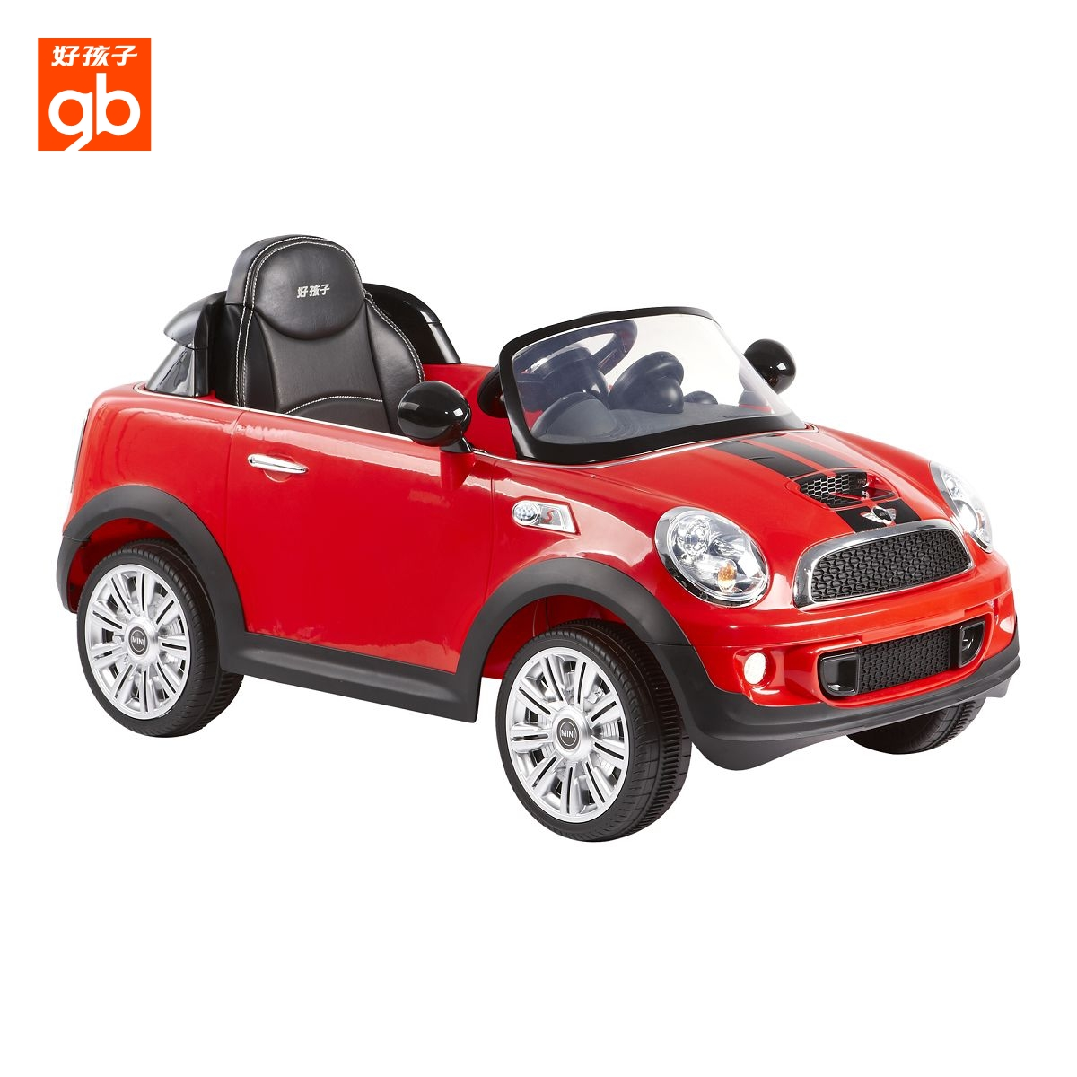 gb child four wheel electric vehicle remote control car minicooper toys baby ride on car w446q b free shipping in ride on cars from toys hobbies on